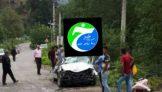 انحراف و سقوط خودرو در ییلاق تالش (کسمه جان)