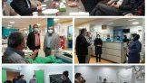 جلسه مدیریت شبکه بهداشت و درمان شهرستان تالش با کارشناسان دفتر فنی دانشگاه علوم پزشکی گیلان در خصوص آماده سازی فنداسیون و نصب دستگاه سی تی اسکن بیمارستان شهید نورانی تالش .
